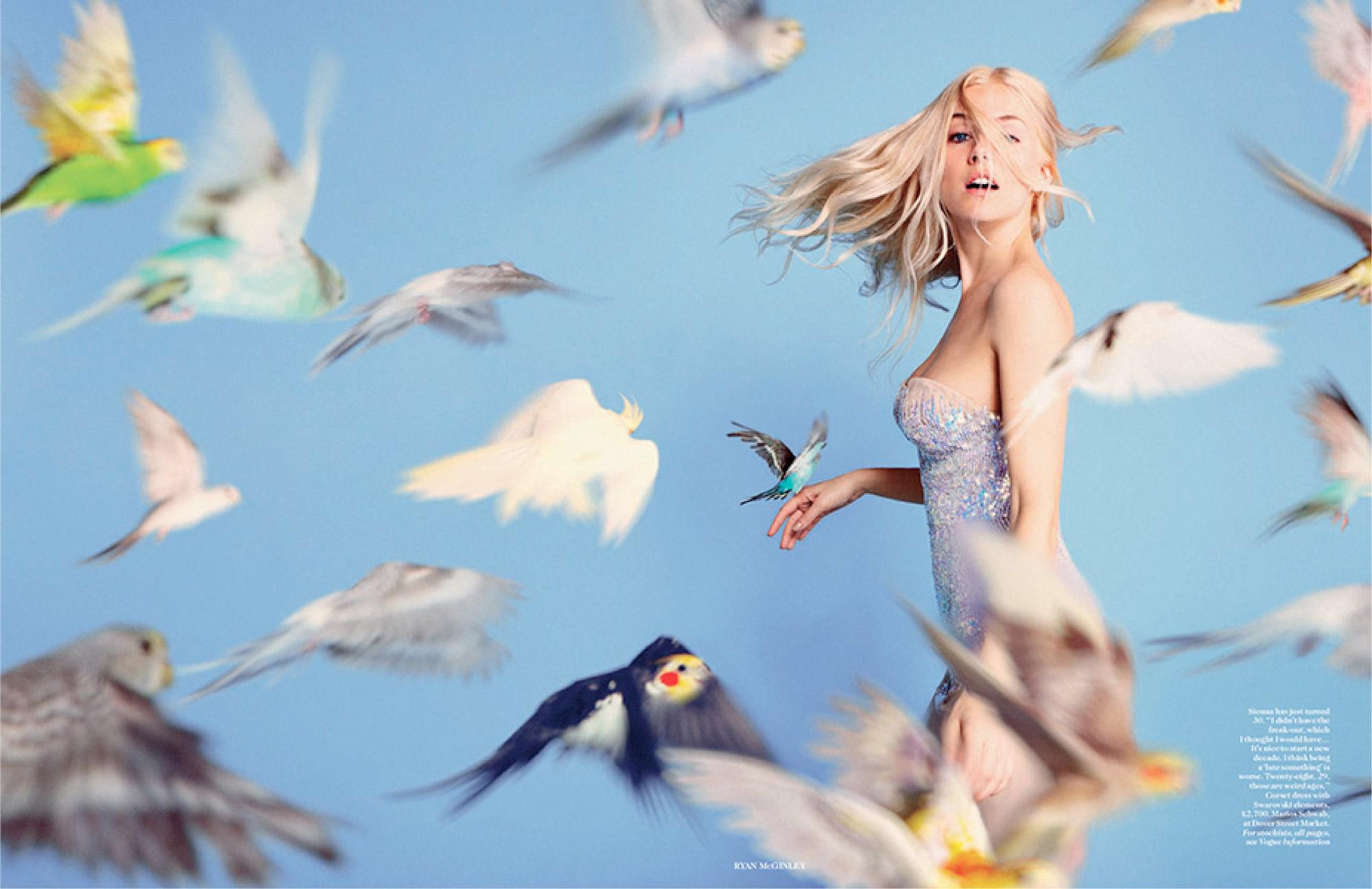 Sienna Miller - Ryan McGinley